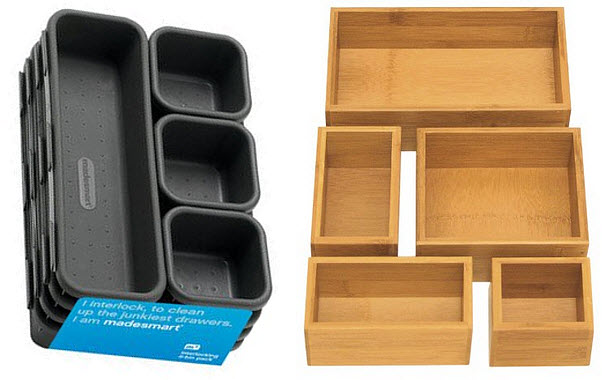 Junk drawer organizer