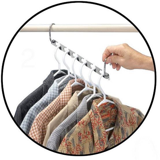 Multiple shirt hanger