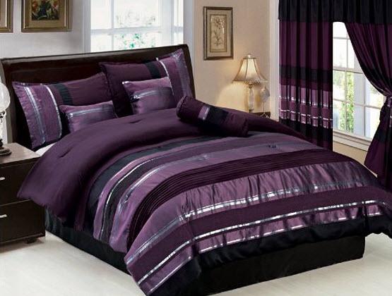 Purple bedding set - Queen