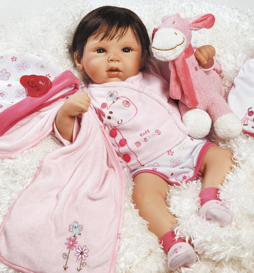 Realistic baby doll for kids