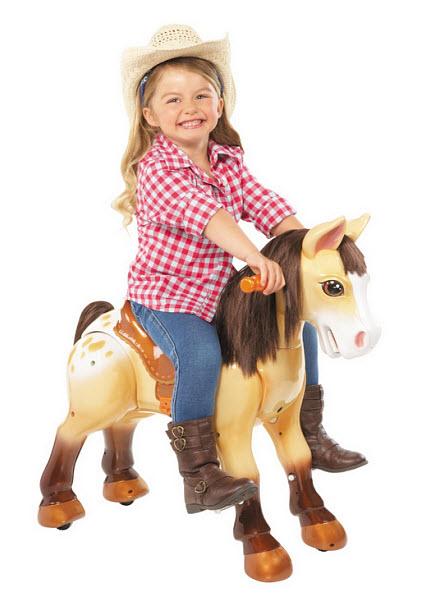 Ride-on pony rocking-horse toy