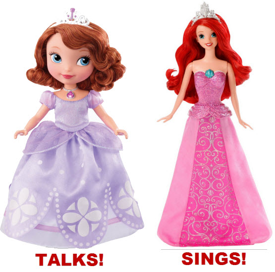 Talking princess doll