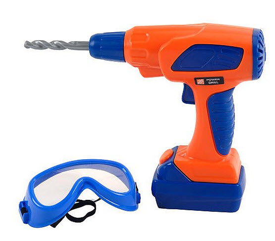 Toy power drill for kids