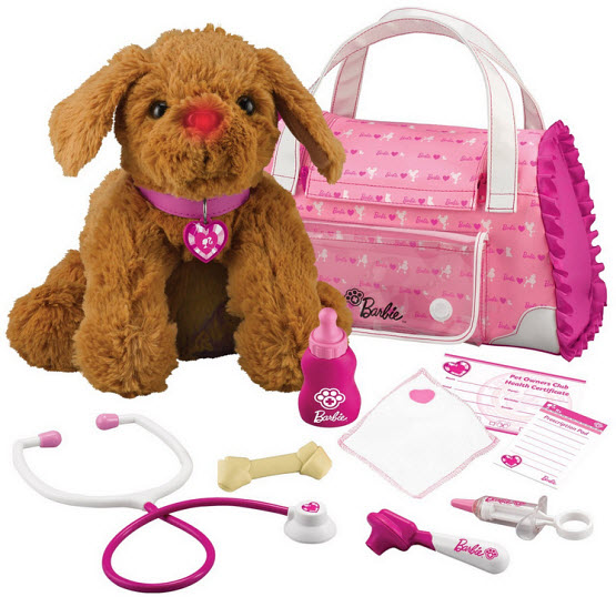Toy veterinarian kit