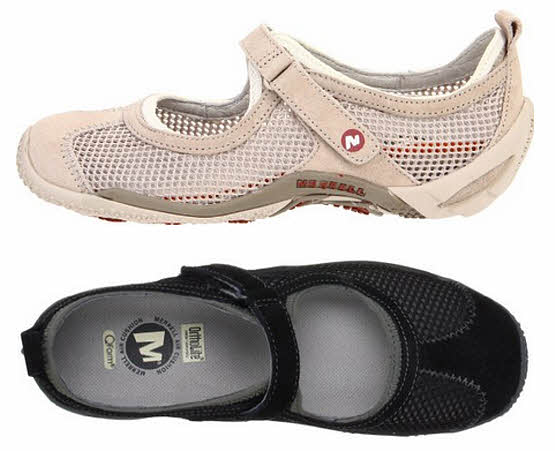 Mesh Mary Jane shoes for women