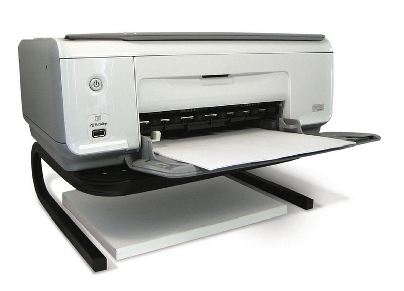Desktop printer riser