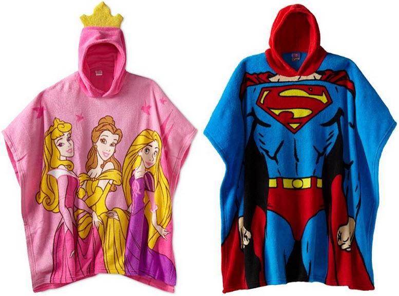 Fleece ponchos for kids