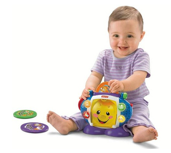 Kids toy CD player