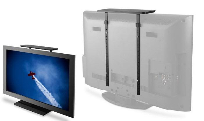 Over-TV shelf