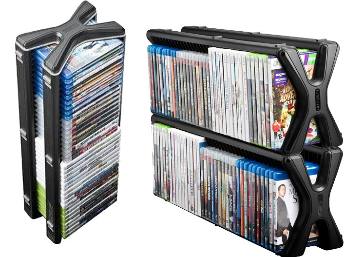 Video game storage tower