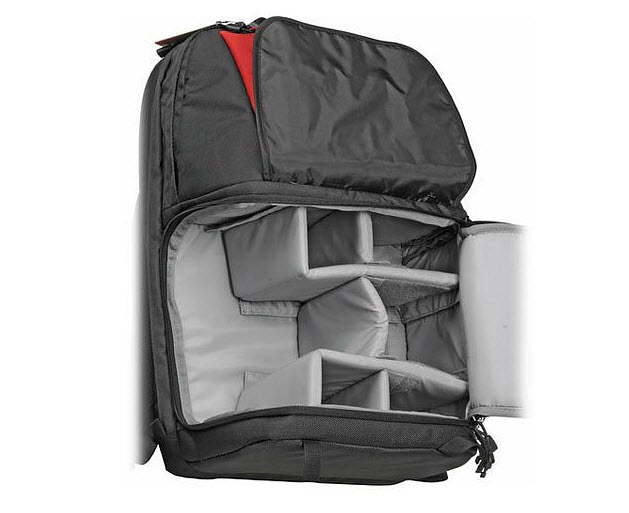 Water resistant photographer backpack