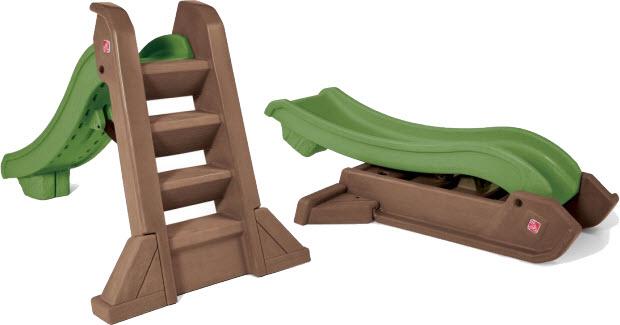 Kids folding slide