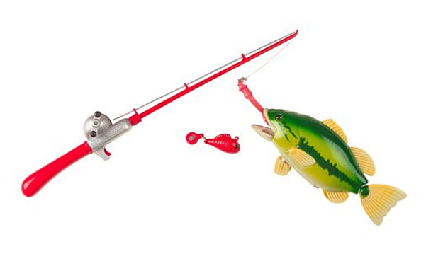Toy fishing pole for kids