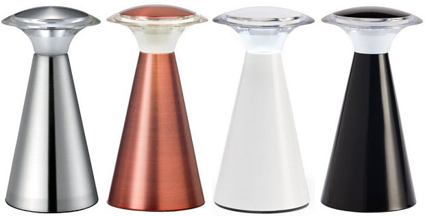 Cordless touch lamp