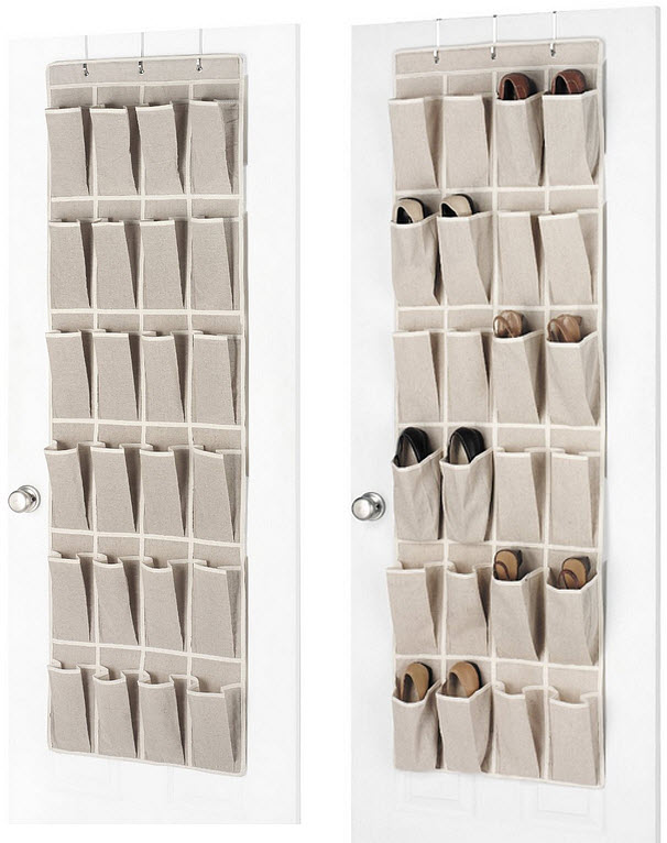 Fabric shoe organizer