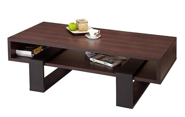 Modern rectangular coffee table