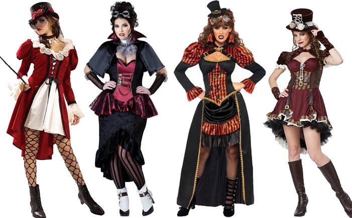 Womens Victorian steampunk costume