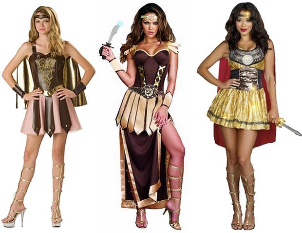 Womens gladiator Halloween costume
