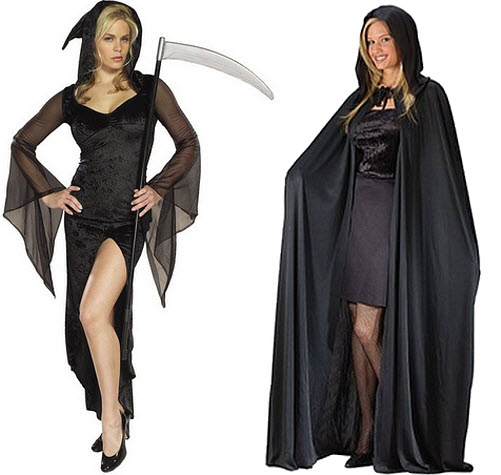 Womens grim reaper costume