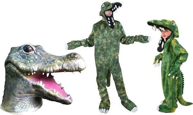 Crocodile Halloween costume