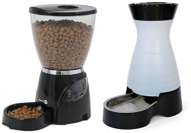 Large automatic pet feeder