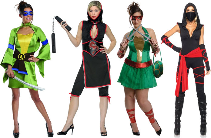 Womens ninja Halloween costume
