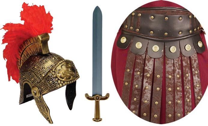 gladiator costume accessories