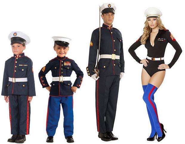 marine halloween costume