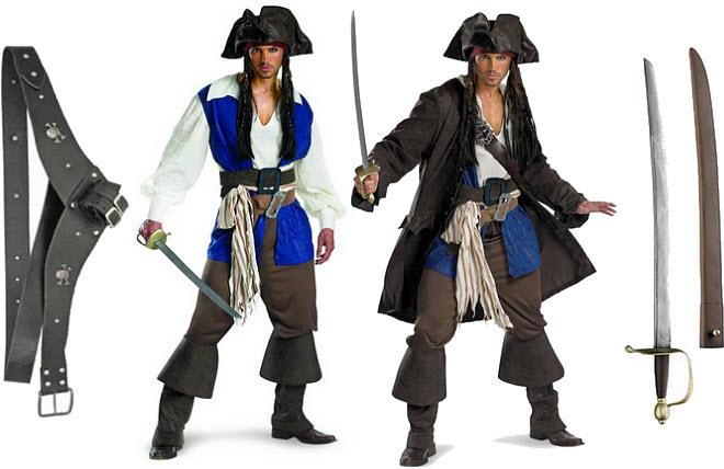 Adult Jack Sparrow Halloween costume