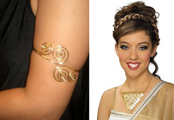 Greek costume jewelry - b