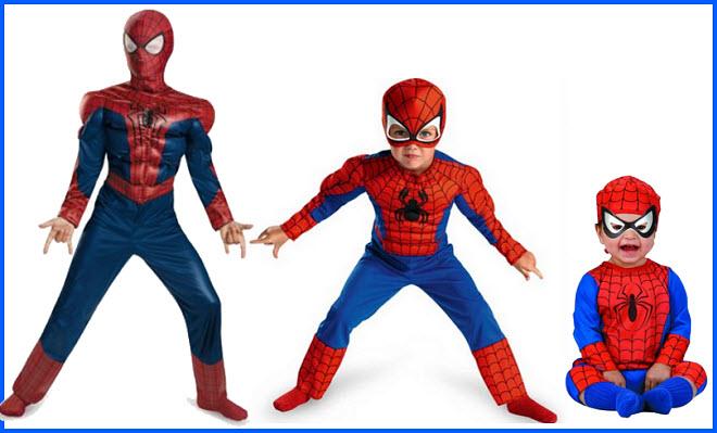Kids Spiderman Halloween costume