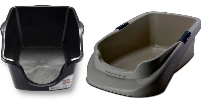Litter boxes for old cats