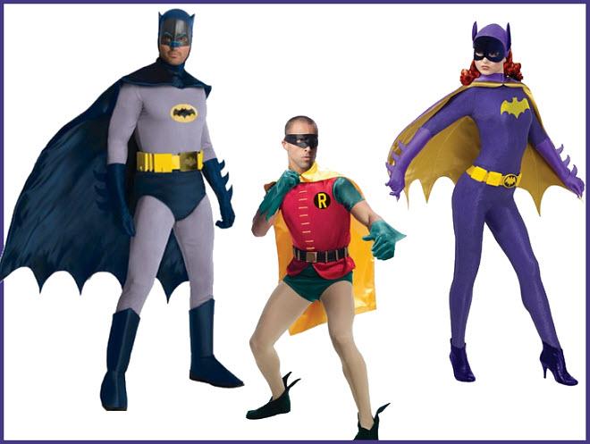 Sixties Batman TV show Halloween costume
