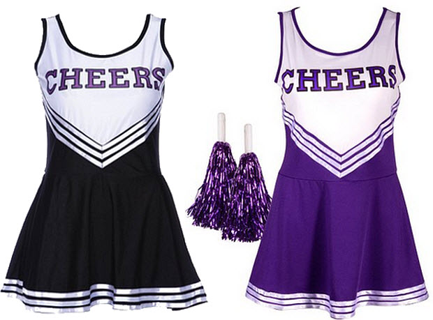 Womens cheerleader Halloween costume