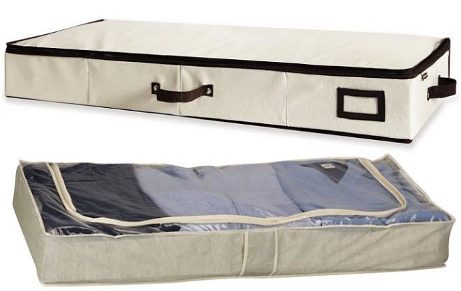 soft underbed storage