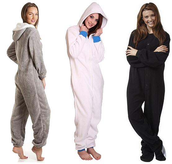 womens winter onesie