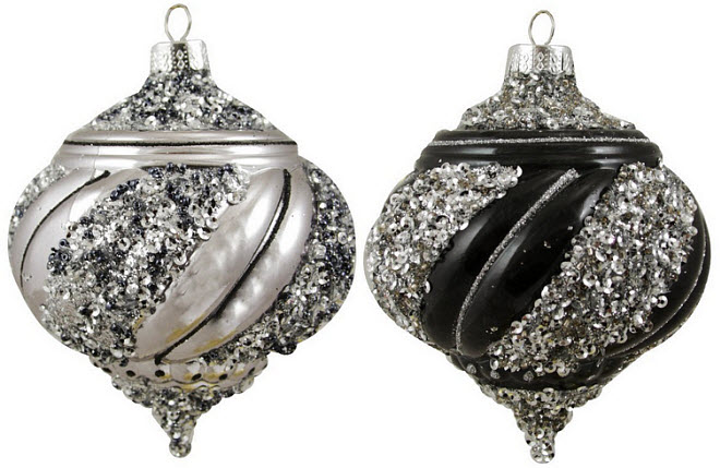 Onion ornaments