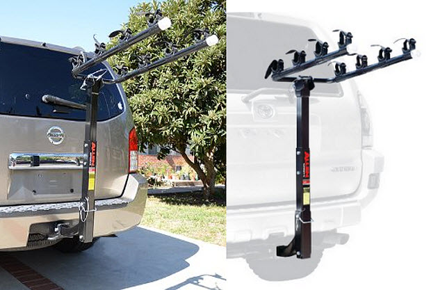 4-bike hitch mount rack