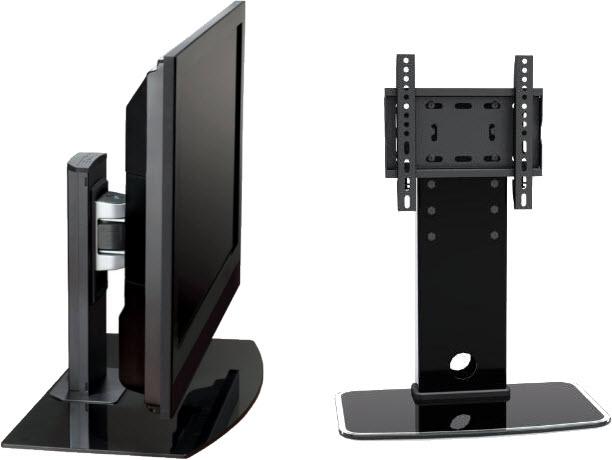 adjustable table top tv mount