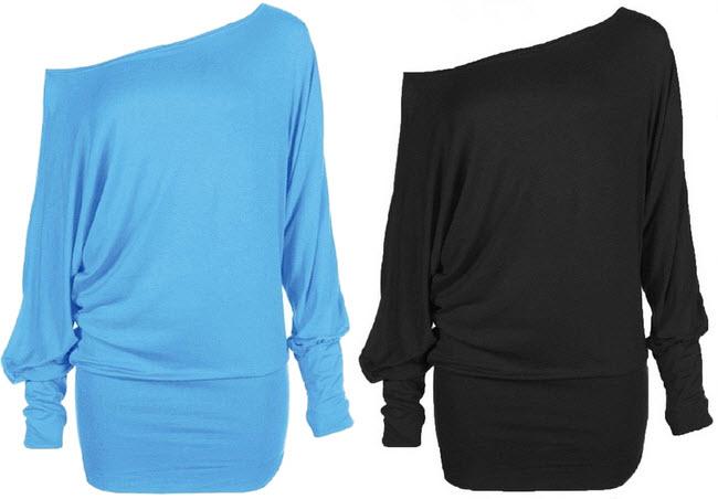 plus size off the shoulder shirts