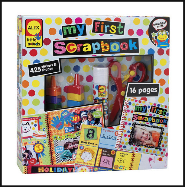 Kids scrapbooking kit