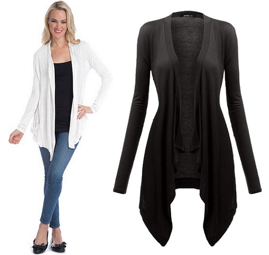 Cardigan cover-up