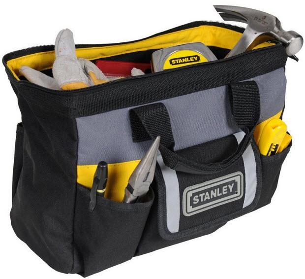 Fabric tool box
